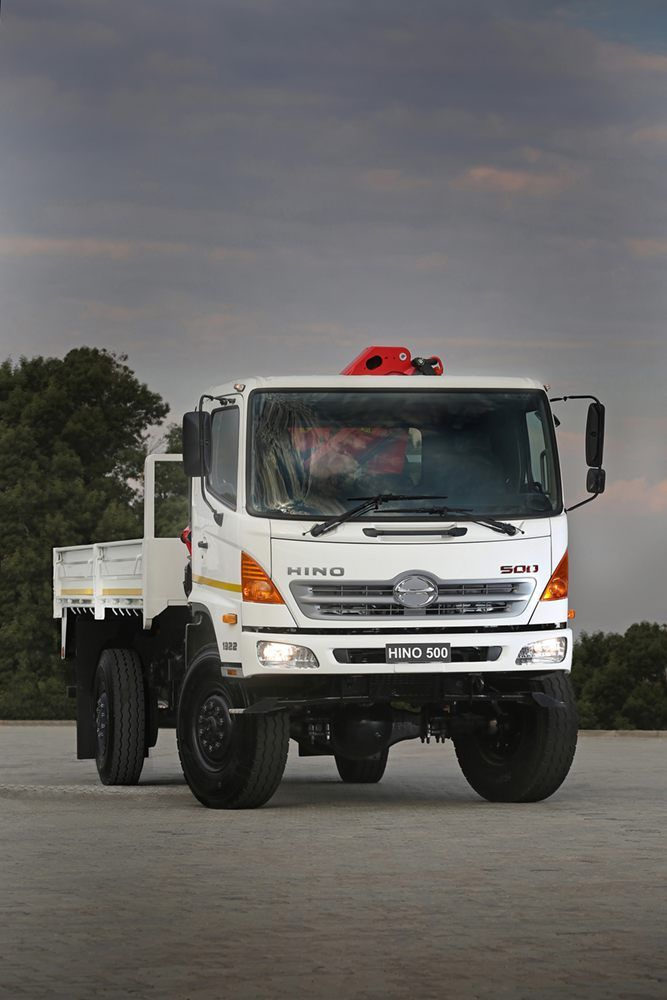 Fuel Truck Wheels >> Single or Double Rear Wheels on the Hino 500 Series 4x4 ...