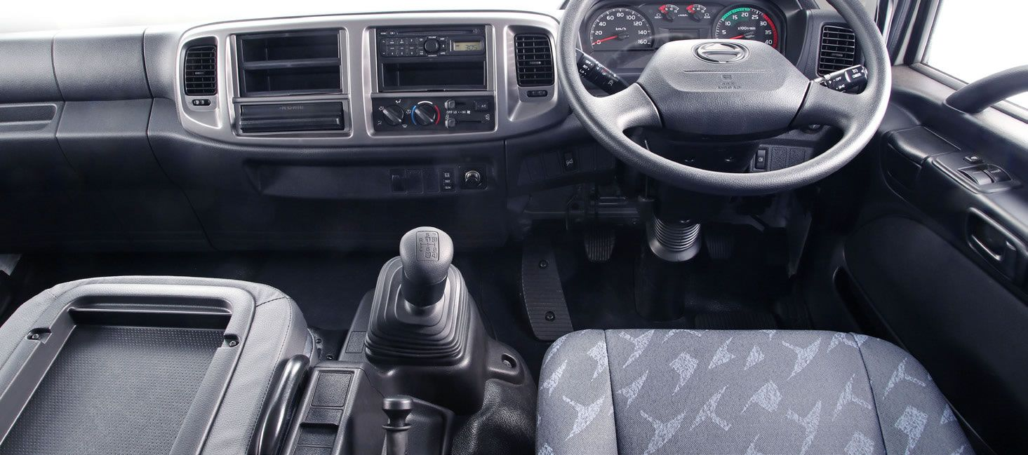 Hino 500 Wide Cab 1627 4x2 Freight Carrier SLWB Automatic Truck