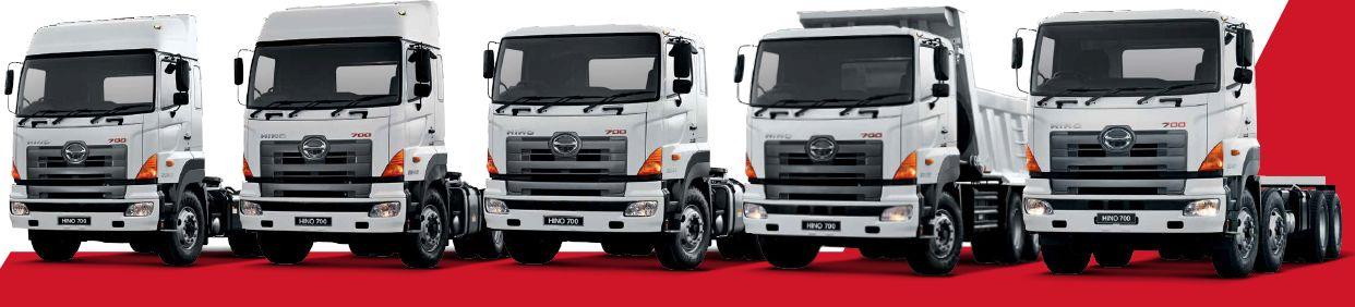 Hino 700 Series Truck Range