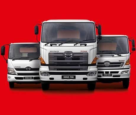 Hino Truck Range